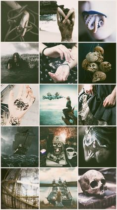 Pirate Witch aesthetic
