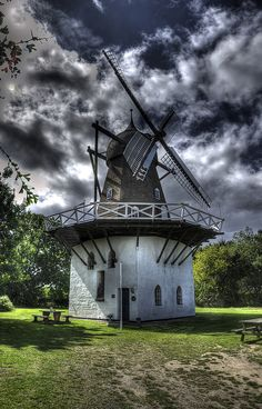 The Fejø mill by Kim Schou (Denmark)