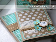 Petite petals project using stampin up supplies by Michelle Last