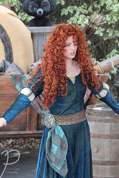 Merida Costume, Merida Disney, Redhead Art, Princess Merida, Disney Face Characters, Girls With Red Hair, Hottest Redheads, Cosplay, Princesas Disney