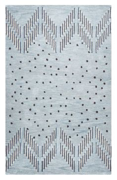 $824 - $1100 8x10  Rizzy Home 'Tumble Weed Loft' Hand Tufted Wool Area Rug