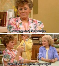 And take excellent care of your body as only you know how. | The 12 Absolute Best Style Tips From Golden Girl Blanche Devereaux