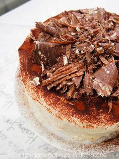 Tiramisu-Torte mit Amarettini