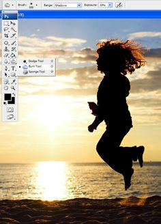 How to photograph and edit silhouettes {part 2}