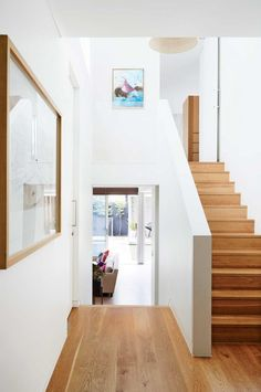 stairs-timber-floorboards-white-walls-Feb15 love the walls and COLOUR of the floor