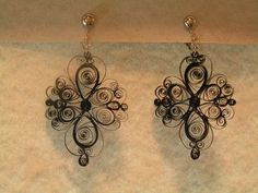 quilling earrings? I could so do this :)