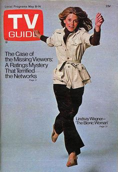 BIONIC WOMAN (1976) TV Guide Cover
