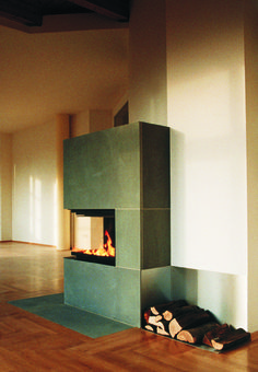 Open Fireplace, Author Jürgen Rajh