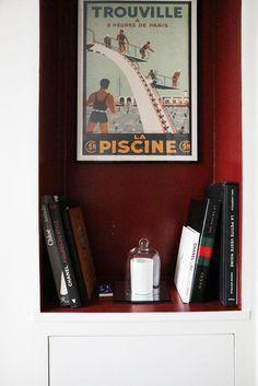 Ionna vautrin entre po sie et industrie affiche vintage for Bibelot decoration maison