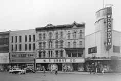 Downtown Grand Rapids_Woolworth's on the corner. (Year unknown)