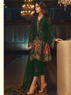 550c7a36f7 Jazmin-Embroidered-Chiffon-Collection-2018-umarposhakmehal. Umar Poshak  Mehal