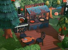 Picnic Blanket, Outdoor Blanket, Motifs Animal, Forest Design, Art Prompts, Animal Crossing Game, Island Design, Rustic Feel, New Leaf