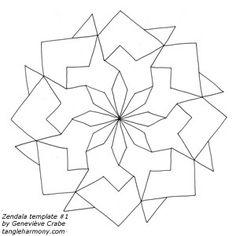 Zendala templates