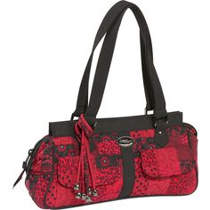 The Donna Sharp Megan Bag Crimson At Ebags Add A Pop Of Color