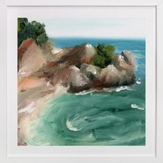 """""""Big Sur"""" - Available in a variety of frame and size options"""