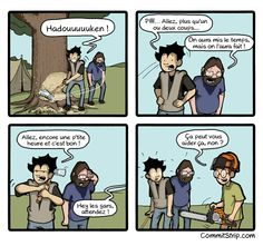 Quand je découvre un plug-in un peu trop tard | CommitStrip - Blog relating the daily life of web agencies developers
