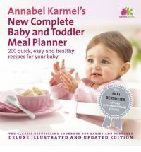 New Complete Baby Toddler Meal Planner - 200 Quick, Easy and Healthy Recipes for Your Baby by Annabel Karmel baby-books Toddler Meals, Kids Meals, Toddler Food, Toddler Recipes, Easy Healthy Recipes, Baby Food Recipes, Healthy Meals, Baby Weaning, Weaning Plan