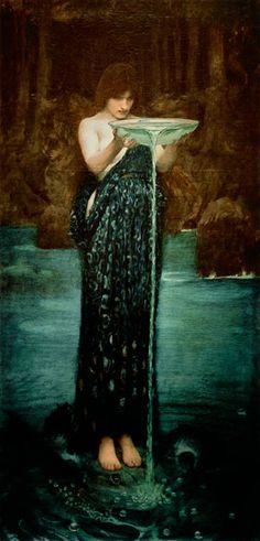 """John William Waterhouse """"Circe Invidiosa"""""""
