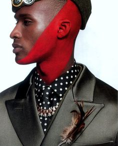 Jamel Gordon Lynch - Who AM I - Arise Magazine Issue 17 - Photographed by Alastair Strong