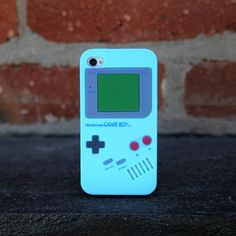 iPhone 4/4S Gameboy Case Blue design inspiration on Fab.