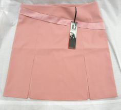 NWTGS BY NAUGHTY PINK STRETCH SKIRT SIZE 16