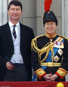 Princess Anne, 63, and Vice Admiral Sir Tim Lawrence, 59, have been married for 22 years
