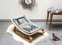Charlie Crane Levo Baby Rocker, Baby Bouncer Seats at Born Baby Bouncer, Designer Baby, Nursery Furniture, Kids Furniture, Baby Design, Baby Bedroom, Kids Bedroom, Baby Rocker, Baby Cribs