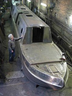 Mel Davis Boatbuilders - Picture Gallery Popup. Barge Boat, Canal Barge, Canal Boat, Wooden Boat Plans, Wooden Boats, Narrowboat Interiors, Dutch Barge, Bushcraft, Sailboat Plans
