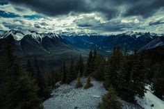 Banff View by Michael Kalachov on Flickr.