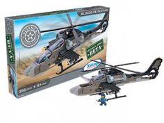 Kit de Blocos Aliança Justiça e Paz Ofensiva - Aérea Beta Helicóptero de Guerra Xalingo 391 Peças com as melhores condições você encontra no Magazine Edmilson07. Confira!