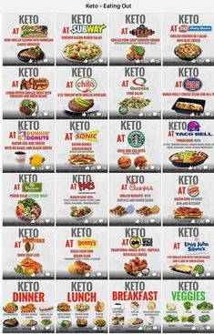 Keto Dining Out Guide – what to eat in the restaurants and fast food places! Eat – # Keto Dining Out Guide – what to eat in the restaurants and fast food places! Cyclical Ketogenic Diet, Ketogenic Diet Meal Plan, Ketogenic Diet For Beginners, Keto Diet For Beginners, Diet Meal Plans, Ketogenic Recipes, Diet Recipes, Diet Meals, Diet Foods