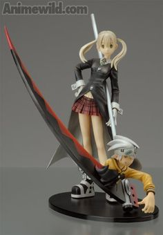 Soul Eater Maka and Soul Figure
