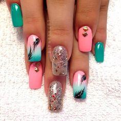 .nails by riyathai87