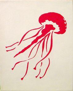 jellfish silhouette - Google Search