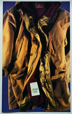 1987 - For the 10 years of the birth of C.P. Company, Massimo Osti introduces two new materials in the collection: Rubber wool and Rubber flax.
