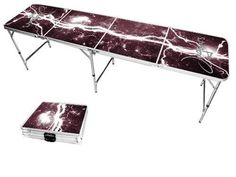 Texas A&M San Antonio Jaguars Lightning Bolt Portable Folding Table