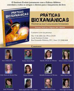 Lançamento do livro Práticas Bioxamânicas - Despertar das Capacidades Interiores de Samuel Souza de Paula