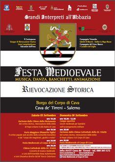 Italia Medievale: Festa Medioevale al Borgo del Copo di Cava (SA)