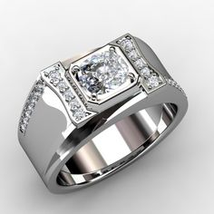 Customer's loose diamonds, customer's gold and a brand new handmade ring that will bring enjoyment for a lifetime - W-032