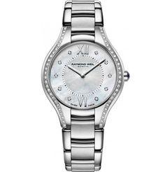 Raymond Weil Women's Swiss Noemia Diamond Accent Two-Tone Pvd Stainless Steel Bracelet Watch Modern Watches, Luxury Watches, Stainless Steel Watch, Stainless Steel Bracelet, Raymond Weil, Pearl Diamond, Diamond Quartz, Black Diamond, Omega Watch