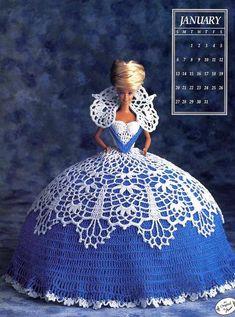 Посмотрите какая красота!!! Куклы Барби в вязанных платьях! - Вязание - Страна Мам