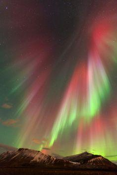 Aurora - Akrafjall, Iceland