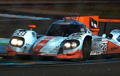 Gulf Racing Middle East  Lola-Nissan B12/80  Le Mans 2012