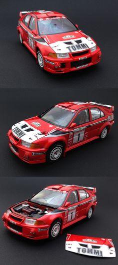 "Tamiya ""MITSUBISHI LANCER EVOLUTION VI WRC"""