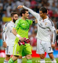 Cristiano Ronaldo e Iker Casillas vs Barcelona 25 de Octubre 2014 #HalaMadrid