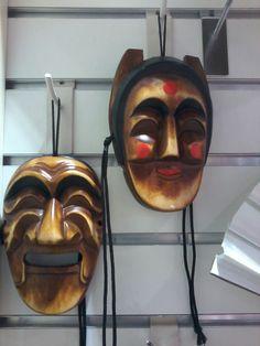 Andong masks at Hot Tracks (49,000 KRW)