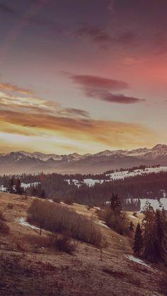 Fall Mountain Nature Sky Tomasz Paciorek Flare #iPhone #6 #plus #wallpaper