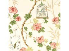 G P & J Baker 'SONGBIRD CREAM PINK'