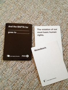 "Yep. Pretty sure we have a winner. | 20 Times The UK Edition Of ""Cards Against Humanity"" Was Too Real"