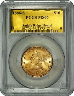 1886-S $10 PCGS slab.Source